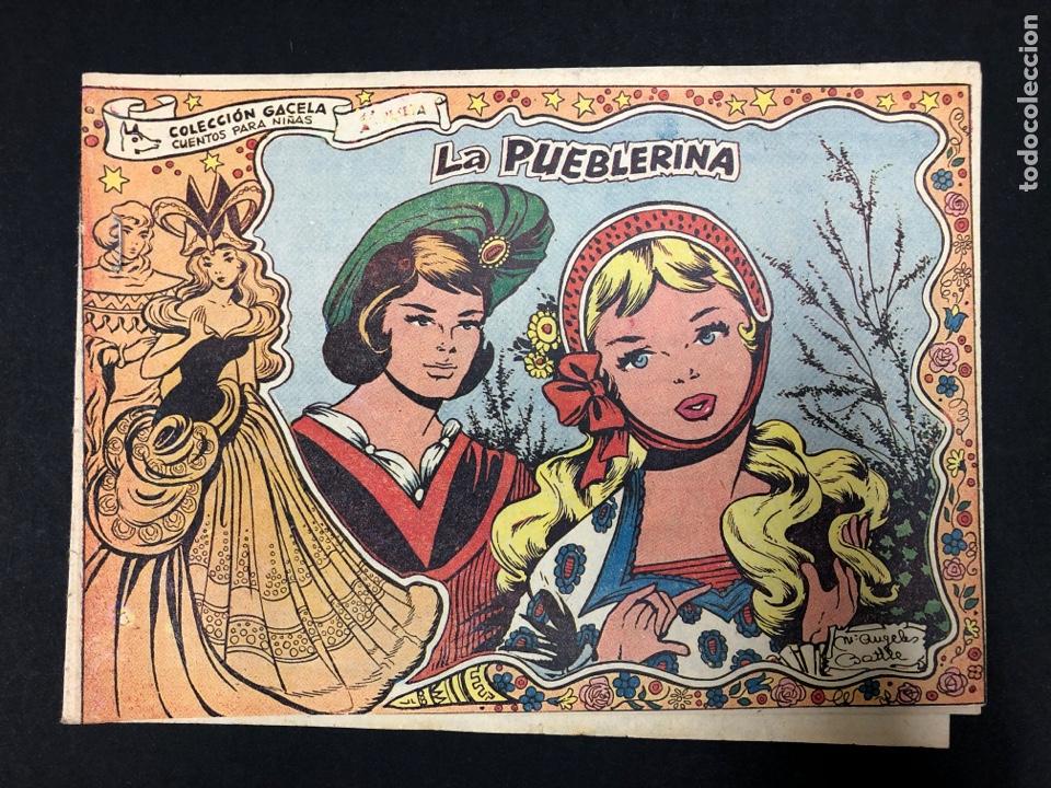 LA PUEBLERINA Nº 72 - COLECCION GACELA (Tebeos y Comics - Ricart - Gacela)