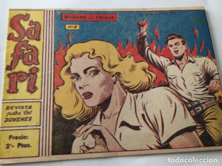 SAFARI- NU. 8 (Tebeos y Comics - Ricart - Safari)