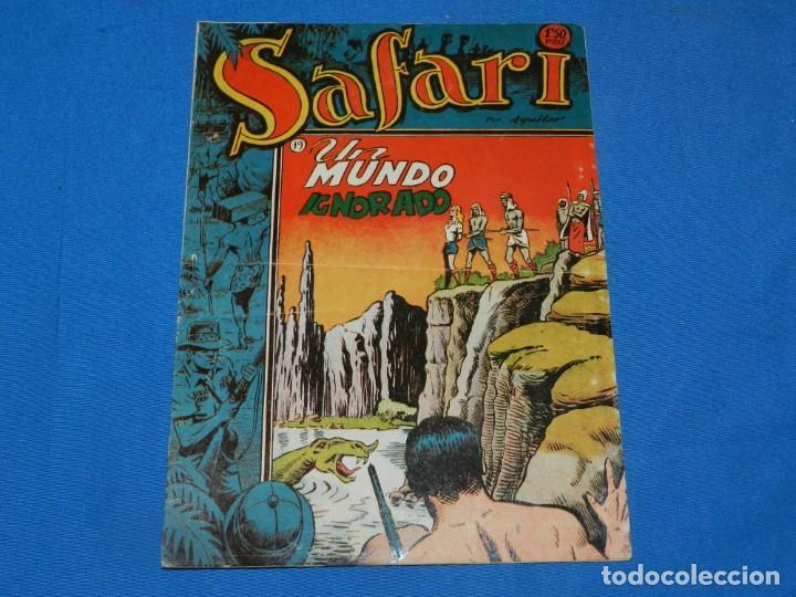 (M4) SAFARI N.19 UN MUNDO IGNORADO, EDT RICART, SEÑALES DE USO NORMALES (Tebeos y Comics - Ricart - Safari)