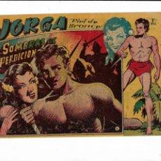 Tebeos: JORGA PIEL DE BRONCE AÑO 1954 Nº 6 ES ORIGINAL DE LA 1ª EDICCIÓN DIBUJANTE FERRANDO. Lote 197375225
