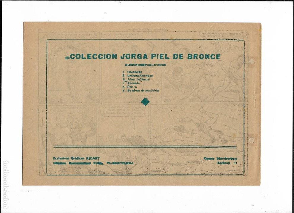Tebeos: Jorga Piel de Bronce Año 1954 Nº 6 es Original de la 1ª Edicción Dibujante Ferrando - Foto 2 - 197375225