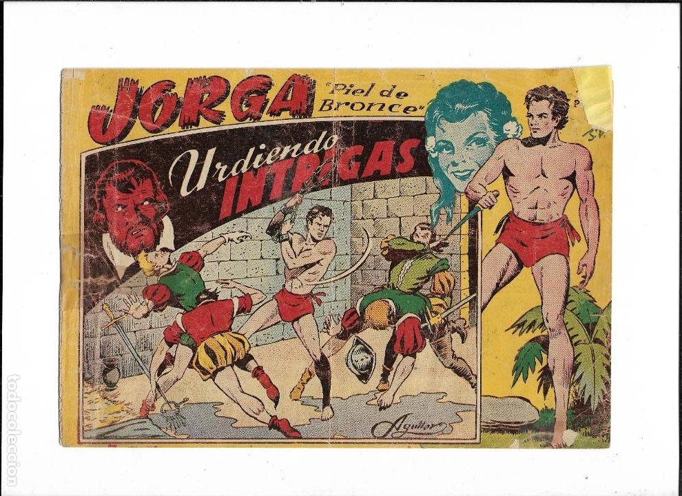 JORGA PIEL DE BRONCE AÑO 1954 Nº 2 ES ORIGINAL DE LA 1ª EDICCIÓN DIBUJANTE FERRANDO (Tebeos y Comics - Ricart - Jorga)