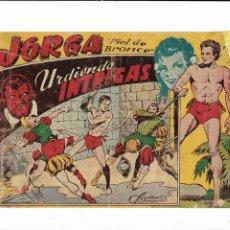 Tebeos: JORGA PIEL DE BRONCE AÑO 1954 Nº 2 ES ORIGINAL DE LA 1ª EDICCIÓN DIBUJANTE FERRANDO . Lote 197408021
