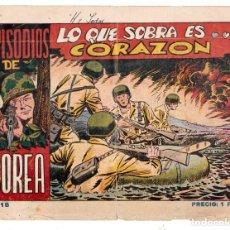 Tebeos: EPISODIOS DE COREA AÑO 1952 Nº 18 ES ORIGINAL DIBUJANTE GIRAL EDITORIAL RICART.. Lote 197804375
