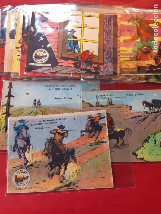 WINCHESTER JIM ALBUM 18/36 COMPLETA ORIGINAL IMPECABLE ESTADO VER FOTOS (Tebeos y Comics - Ricart - Otros)