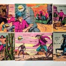 Tebeos: 6 EJEMPLARES DE WINCHESTER JIM, TODOS SIN ABRIR. PERFECTOS.ORIGINALES 1963. Lote 198234170