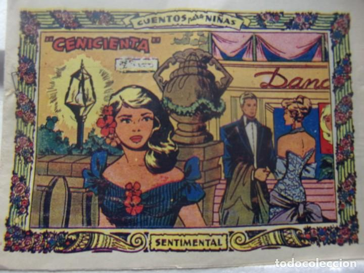 COLECCIÓN SENTIMENTAL - CENICIENTA (Tebeos y Comics - Ricart - Otros)
