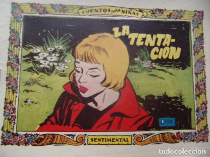 COLECCIÓN SENTIMENTAL NÚM. 112 - LA TENTACION (Tebeos y Comics - Ricart - Otros)