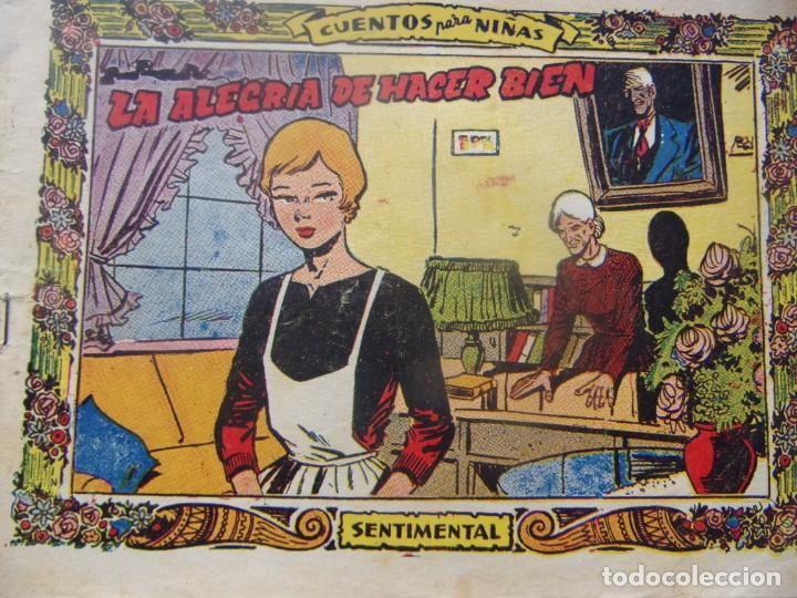 COLECCIÓN SENTIMENTAL NÚM. 298- LA ALEGRIA DE HACER BIEN (Tebeos y Comics - Ricart - Otros)