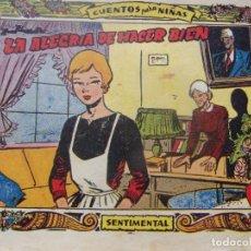 Tebeos: COLECCIÓN SENTIMENTAL NÚM. 298- LA ALEGRIA DE HACER BIEN. Lote 198580553