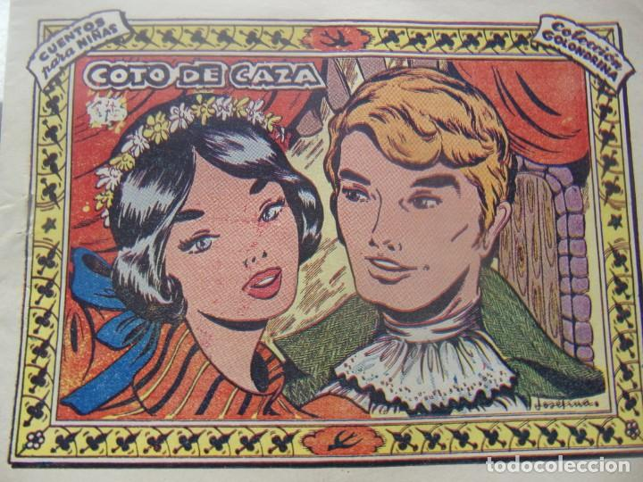 COLECCIÓN GOLONDRINA - COTO DE CAZA -OBSEQUIO CARAMELOS RUMBO (Tebeos y Comics - Ricart - Golondrina)