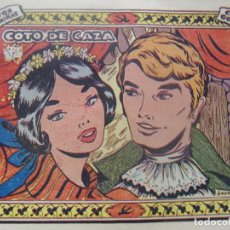 Tebeos: COLECCIÓN GOLONDRINA - COTO DE CAZA -OBSEQUIO CARAMELOS RUMBO. Lote 198581792