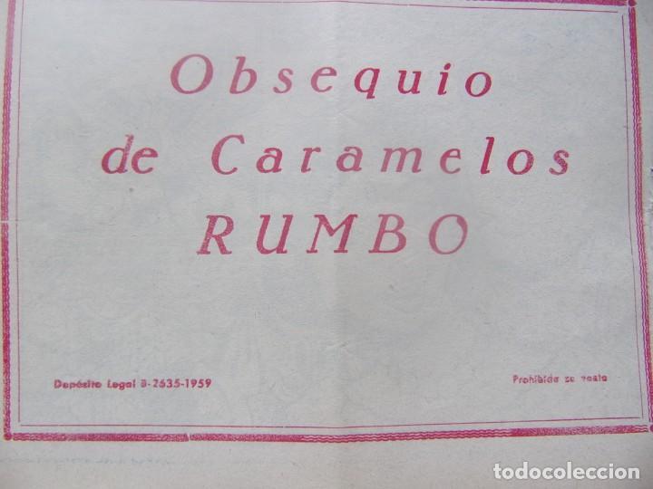 Tebeos: COLECCIÓN GOLONDRINA - COTO DE CAZA -obsequio caramelos rumbo - Foto 2 - 198581792