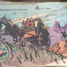 Tebeos: WINCHESTER JIM Nº 34 MORGAN CONTRATACA RICART 1956. Lote 198605188