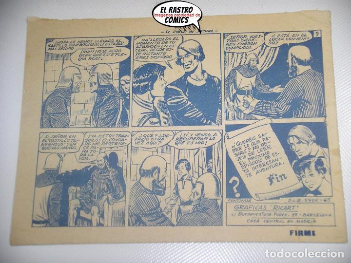 Tebeos: Flecha y Arturo nº 7, ed. Ricart - Foto 2 - 198839173