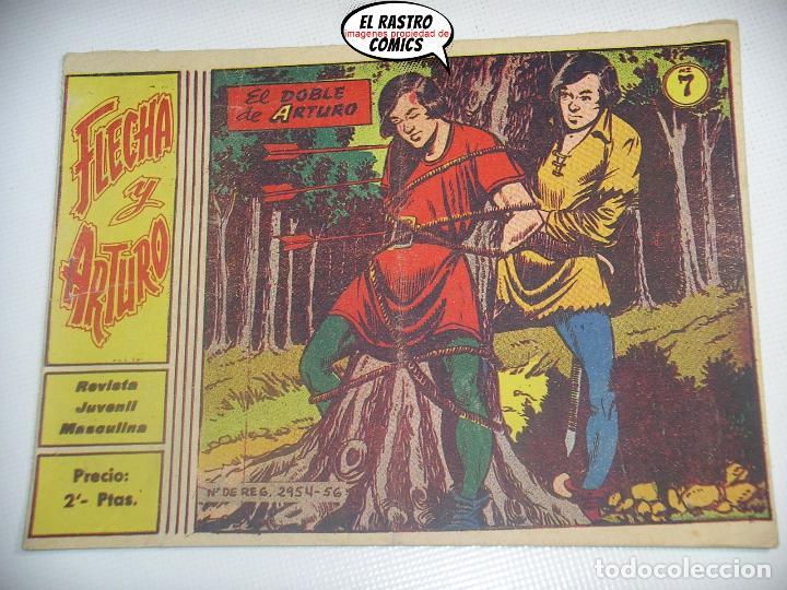 FLECHA Y ARTURO Nº 7, ED. RICART (Tebeos y Comics - Ricart - Flecha y Arturo)