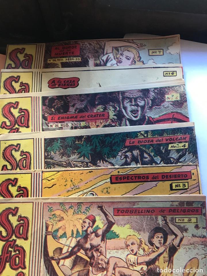 Tebeos: Safari 6 números: 2, 3, 4, 5, 6 y 7 - Foto 2 - 199124481