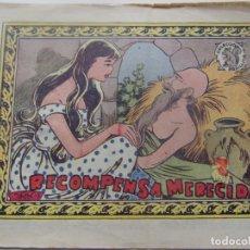 Tebeos: COLECCIÓN ARDILLITA -RECOMPENSA MERECIDA. Lote 199171237