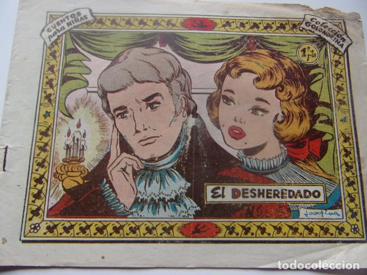 COLECCIÓN GOLONDRINA NÚM. 28- EL DESHEREDADO (Tebeos y Comics - Ricart - Golondrina)