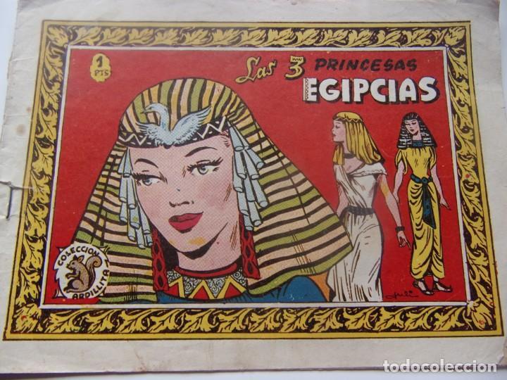 COLECCIÓN ARDILLITA - LAS TRES PRINCESAS EGIPCIAS (Tebeos y Comics - Ricart - Otros)