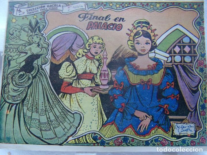 COLECCIÓN GACELA - FINAL EN PALACIO REGALO CARAMELOS RUMBO (Tebeos y Comics - Ricart - Gacela)