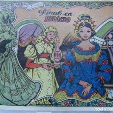 Tebeos: COLECCIÓN GACELA - FINAL EN PALACIO REGALO CARAMELOS RUMBO. Lote 199256203