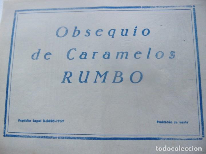 Tebeos: COLECCIÓN GACELA - FINAL EN PALACIO Regalo caramelos Rumbo - Foto 2 - 199256203