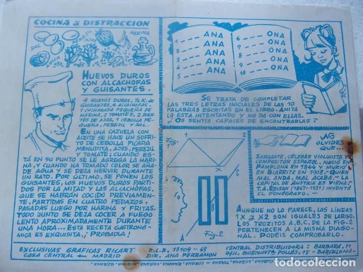 Tebeos: COLECCIÓN GOLONDRINA NÚM.113 - LA MODISTILLA Y EL OFICIAL - Foto 2 - 199256435