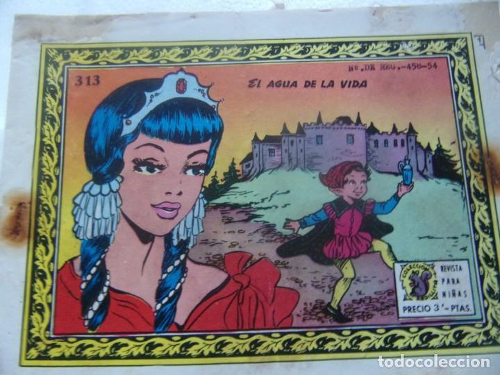 COLECCIÓN GOLONDRINA NÚM.313 - EL AGUA DE LA VIDA (Tebeos y Comics - Ricart - Golondrina)