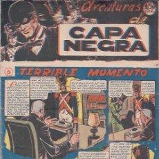 Tebeos: AVENTURAS DE CAPA NEGRA Nº 5. Lote 199727118