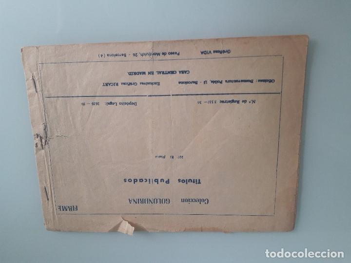 Tebeos: COLECCIÓN GOLONDRINA Nº 227 - EL PLEITO - CUENTOS PARA NIÑAS - GRÁFICAS RICART - 1959 - Foto 2 - 199814302