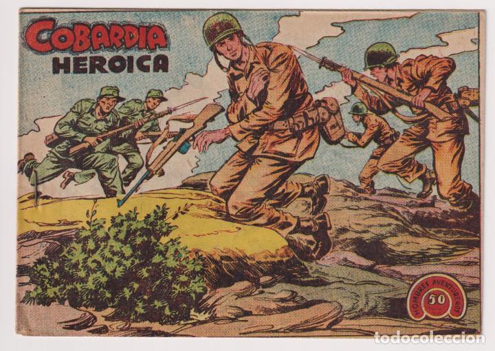 HOMBRES AVENTUREROS Nº 31 COBARDIA HEROICA EDITORIAL RICART NUEVO SIN LEER (Tebeos y Comics - Ricart - Otros)