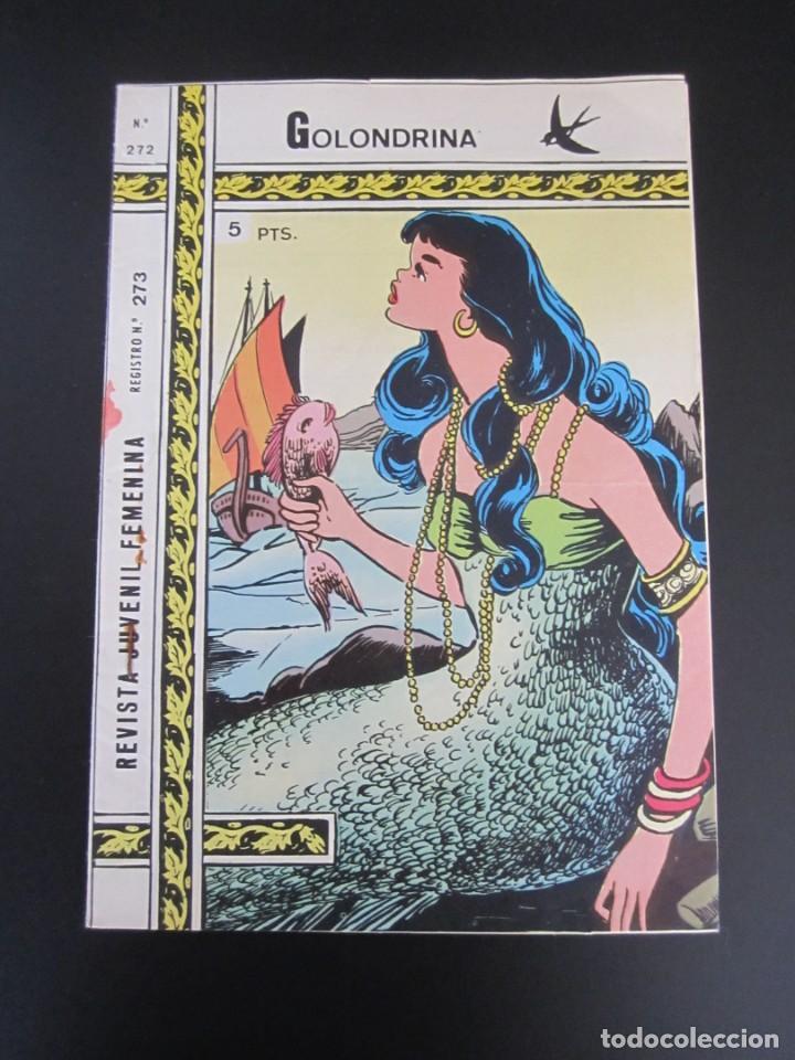 GOLONDRINA (1968, RICART) -EXTRA CUENTOS- 272 · 19-II-1974 · LA HIJA DEL MAGO (Tebeos y Comics - Ricart - Golondrina)