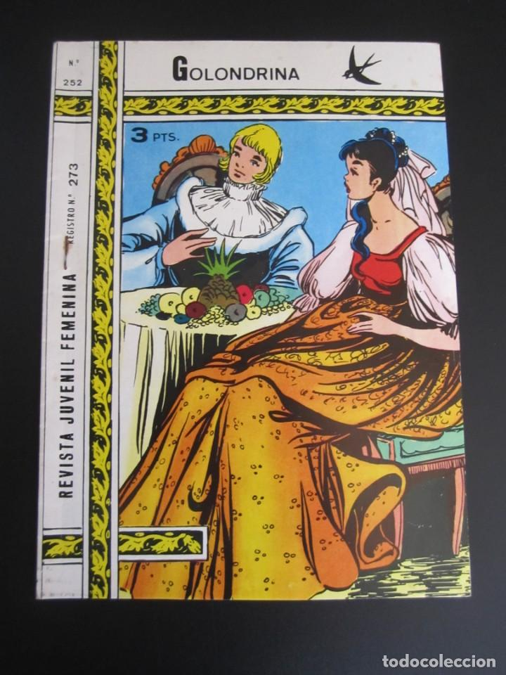 GOLONDRINA (1968, RICART) -EXTRA CUENTOS- 252 · 1972 · GOLONDRINA EXTRA CUENTOS (Tebeos y Comics - Ricart - Golondrina)