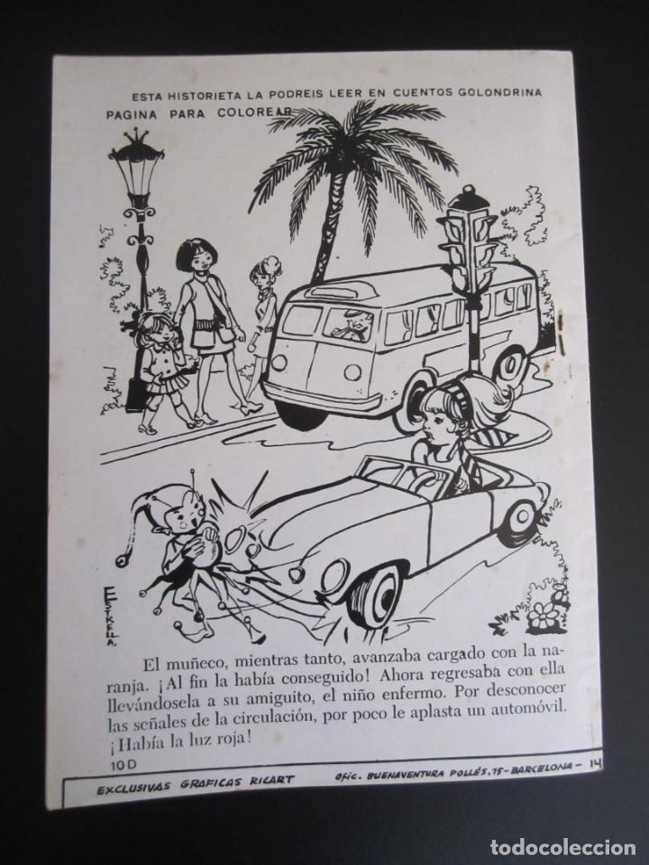 Tebeos: GOLONDRINA (1968, RICART) -EXTRA CUENTOS- 252 · 1972 · GOLONDRINA EXTRA CUENTOS - Foto 2 - 199991540