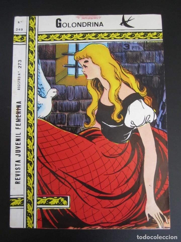 GOLONDRINA (1968, RICART) -EXTRA CUENTOS- 249 · 1968 · GOLONDRINA (Tebeos y Comics - Ricart - Golondrina)