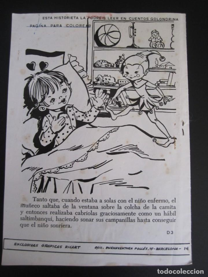 Tebeos: GOLONDRINA (1968, RICART) -EXTRA CUENTOS- 249 · 1968 · GOLONDRINA - Foto 2 - 199991562