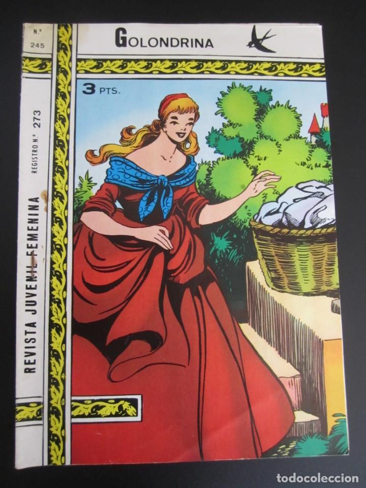 GOLONDRINA (1968, RICART) -EXTRA CUENTOS- 245 · 1972 · GOLONDRINA EXTRA CUENTOS (Tebeos y Comics - Ricart - Golondrina)