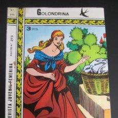 Tebeos: GOLONDRINA (1968, RICART) -EXTRA CUENTOS- 245 · 1972 · GOLONDRINA EXTRA CUENTOS. Lote 199991596