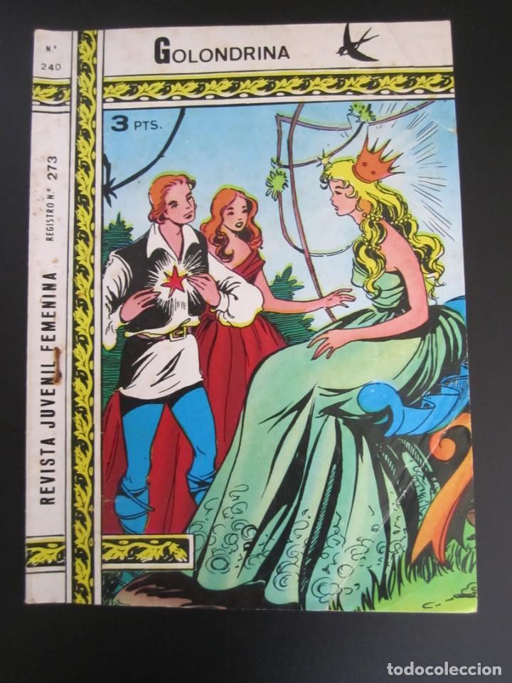 GOLONDRINA (1968, RICART) -EXTRA CUENTOS- 240 · 17-VII-1973 · GOLONDRINA (Tebeos y Comics - Ricart - Golondrina)