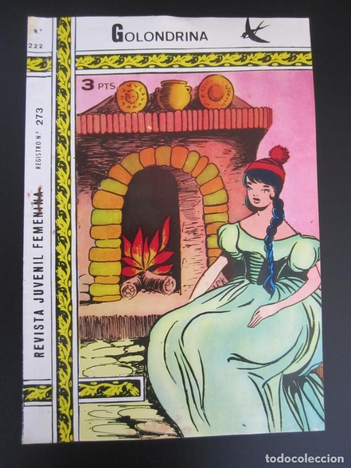 GOLONDRINA (1968, RICART) -EXTRA CUENTOS- 222 · 30-III-1973 · TULIPANES (Tebeos y Comics - Ricart - Golondrina)