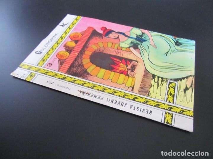 Tebeos: GOLONDRINA (1968, RICART) -EXTRA CUENTOS- 222 · 30-III-1973 · TULIPANES - Foto 3 - 199991622