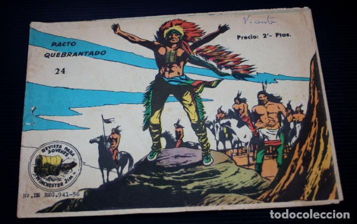 WINCHESTER JIM Nº24 (RICART) (Tebeos y Comics - Ricart - Otros)