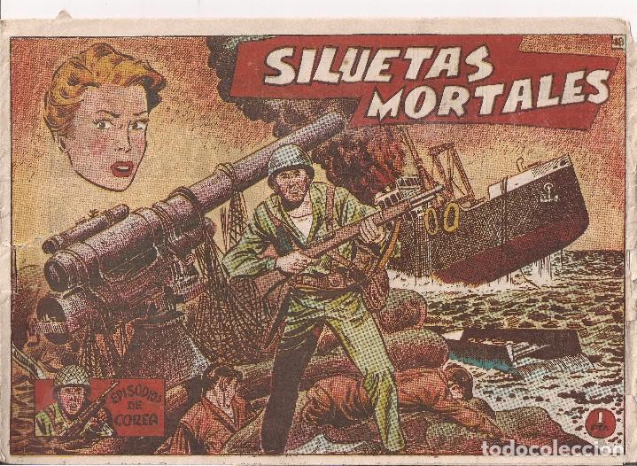 EPISODIOS DE COREA Nº 48 SILUETAS MORTALES (Tebeos y Comics - Ricart - Otros)