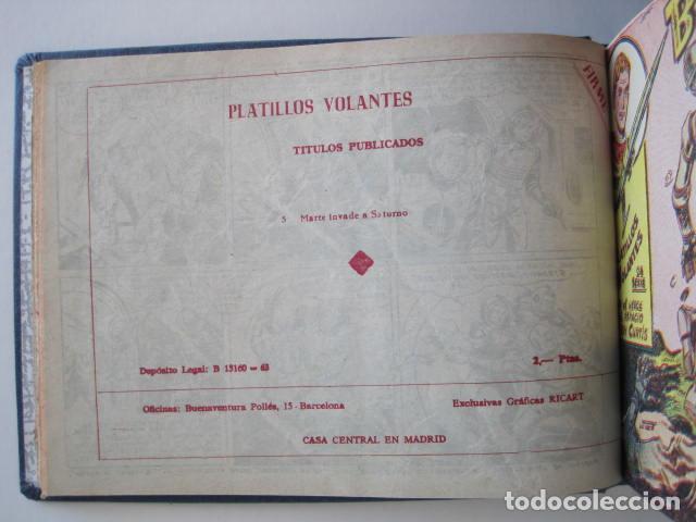 Tebeos: PLATILLOS VOLANTES. COLECCIÓN COMPLETA, 18 NÚMEROS, 2 PTAS. 1963. EXCLUSIVAS GRÁFICAS RICART. - Foto 18 - 204814788