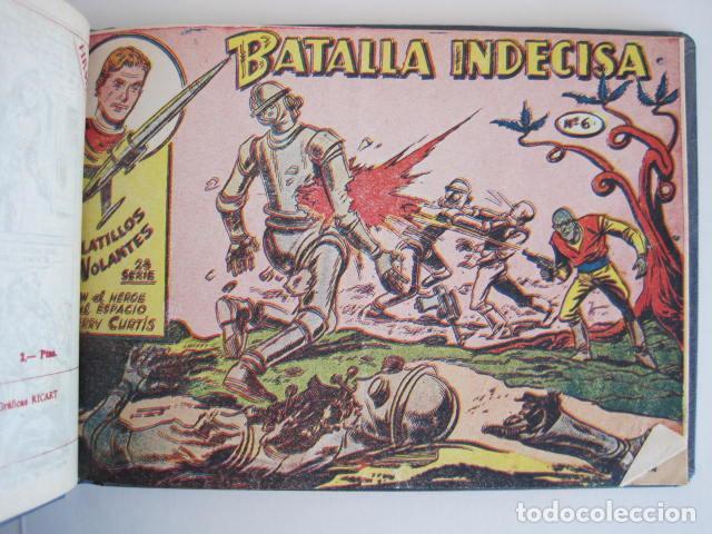 Tebeos: PLATILLOS VOLANTES. COLECCIÓN COMPLETA, 18 NÚMEROS, 2 PTAS. 1963. EXCLUSIVAS GRÁFICAS RICART. - Foto 19 - 204814788