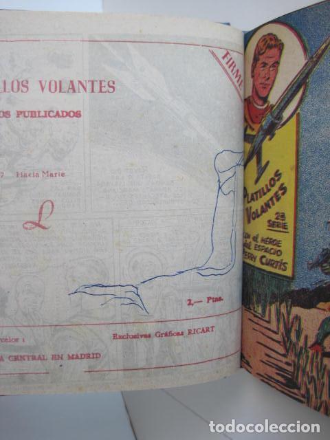 Tebeos: PLATILLOS VOLANTES. COLECCIÓN COMPLETA, 18 NÚMEROS, 2 PTAS. 1963. EXCLUSIVAS GRÁFICAS RICART. - Foto 22 - 204814788