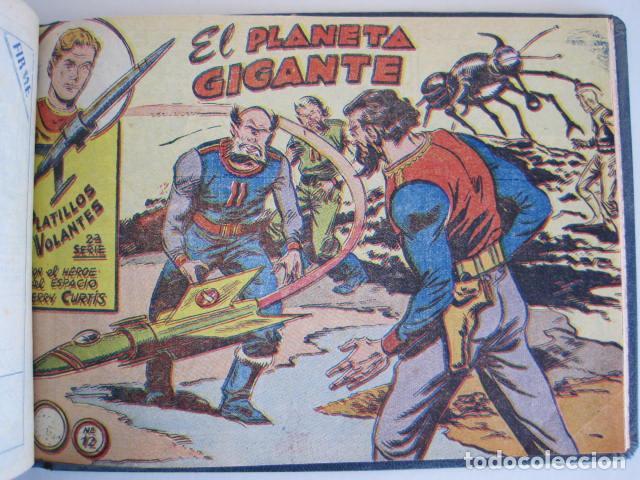 Tebeos: PLATILLOS VOLANTES. COLECCIÓN COMPLETA, 18 NÚMEROS, 2 PTAS. 1963. EXCLUSIVAS GRÁFICAS RICART. - Foto 27 - 204814788