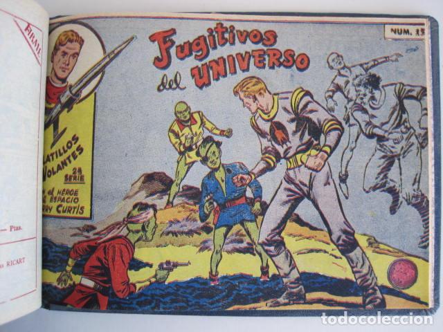 Tebeos: PLATILLOS VOLANTES. COLECCIÓN COMPLETA, 18 NÚMEROS, 2 PTAS. 1963. EXCLUSIVAS GRÁFICAS RICART. - Foto 32 - 204814788