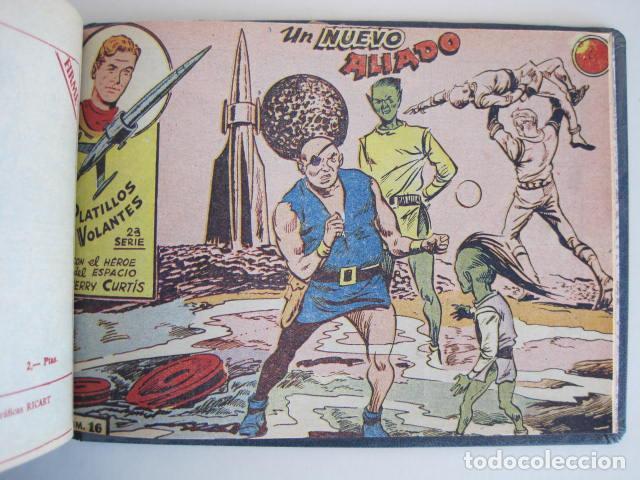Tebeos: PLATILLOS VOLANTES. COLECCIÓN COMPLETA, 18 NÚMEROS, 2 PTAS. 1963. EXCLUSIVAS GRÁFICAS RICART. - Foto 33 - 204814788